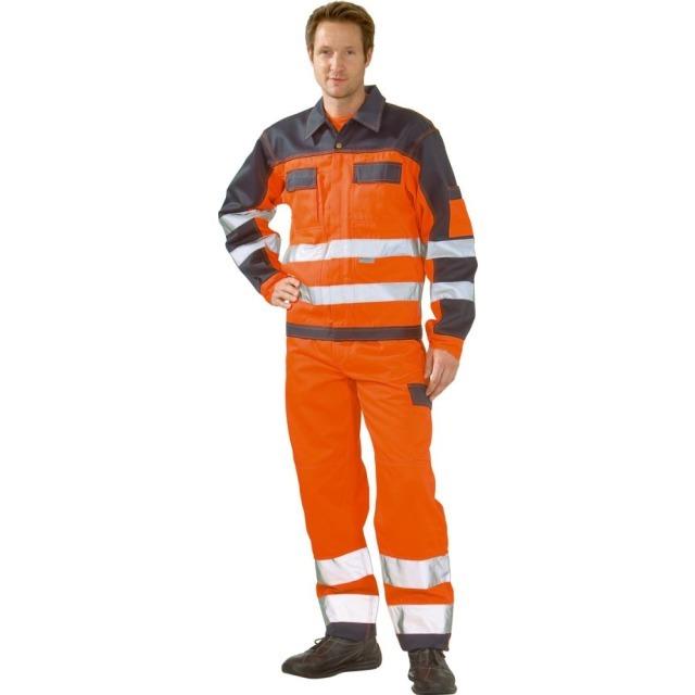 Agrar, Forst & Kommune Precise Zweifarbige Warnschutzjacke Klasse 3 Größe Xl 108-116cm Neu Neu Top