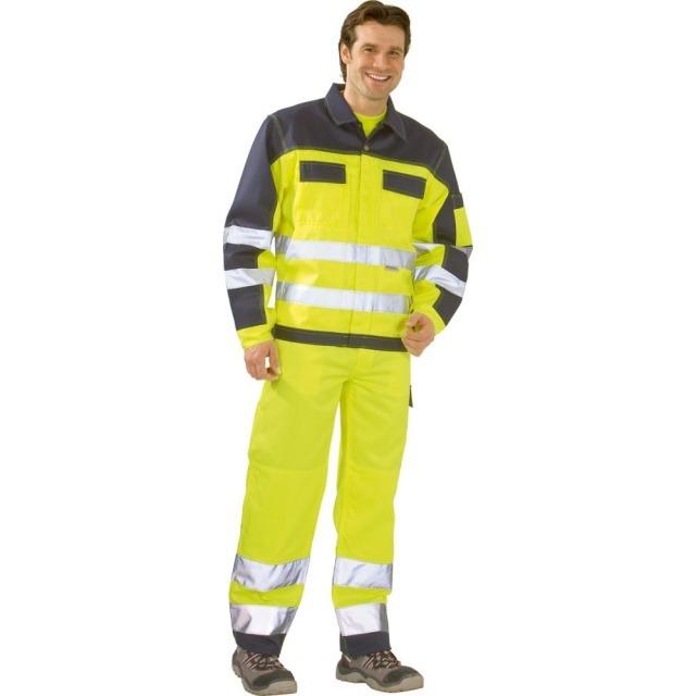Arbeitskleidung & -schutz Precise Zweifarbige Warnschutzjacke Klasse 3 Größe Xl 108-116cm Neu Neu Top Kleidung