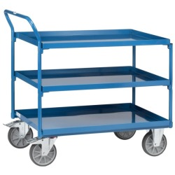 Bock-, Lenkrollen & Räder Satz Blue Wheels Transportrollen 100 Mm Lenkrollen Bockrollen Platte Warm Und Winddicht